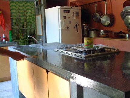 Barras de cocina de cemento imagui for Barras de cocina de concreto